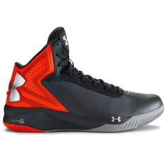Under Armour Men's UA Micro G Torch Basketball Shoes ($95) ❤ liked on Polyvore featuring men's fashion, men's shoes, graphite, under armour mens shoes, mens leopard print shoes, mens perforated shoes, mens lightweight running shoes and mens shoes