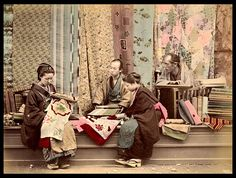 THE SILK STORE -- Two Japanese Girls Start from Scratch, Dreaming of a New Kimono in Old Japan