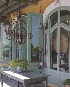 Storefront in Seaside Florida