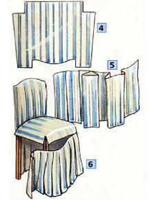 stuhlhussen schnittmuster n hen n hen stuhlhussen n hen und n hen schnittmuster. Black Bedroom Furniture Sets. Home Design Ideas