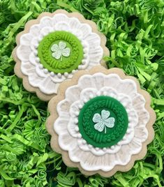 Patrick's Day Ideas with Springerle Molds Mold 2022 Lucky Clover Small St Patrick's Day Cookies, Crazy Cookies, Fancy Cookies, Cut Out Cookies, Easter Cookies, Royal Icing Cookies, Christmas Cookies, Cupcakes, Cupcake Cookies