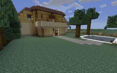 Modern house, creation #3530