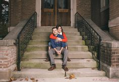 From Dori & Pat's engagement session last week! Beautiful couple!