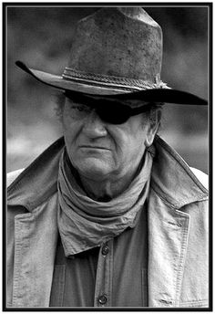 JOHN WAYNE was the original Rooster Cogburn in the movie True Grit. This movie was done in He had Katherine Hepburn as his co-star and you can't beat that - Dunway Enterprises John Wayne Quotes, John Wayne Movies, Old Movies, Great Movies, Gi Joe, Wayne Family, Star Trek, Tv Westerns, Actor John