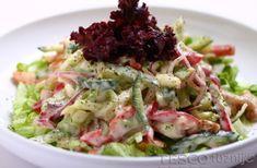 Főzni jó - Recept - Joghurtos-citromos kevert saláta