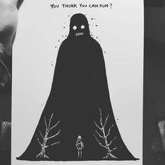 No escape Skeleton Art, Skull And Bones, Skull Art, Aesthetic Art, Ink Art, Dark Fantasy, Artist Art, Art Sketches, Illustrators