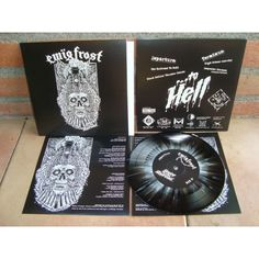"EWÏG FROST - The Railroad to Hell - 7"" - discosmacarras.com"