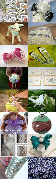 ETW --->❤ HEART ATTACK SUNDAY, MAY 2nd - Spring has sprung! by Kristy Jo on Etsy--Pinned with TreasuryPin.com
