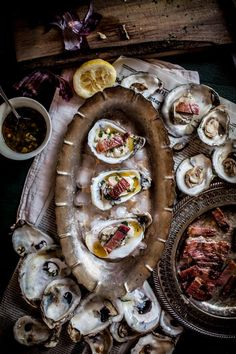 Grilled Oysters / Adverntures in Cooking