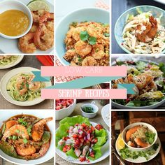 Whether you're looking to eat a little bit lighter or just love quick and easy meals, shrimp as the protein is the way to go! All of these recipes can be whipped up in no time and are perfect for dinners or lunch in the summer time months! For those who are carb conscious, [...]