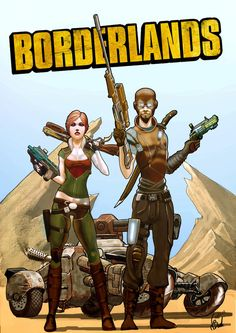 Borderlands - The adventure of Lilith and Mordecai by MrPheenox on DeviantArt