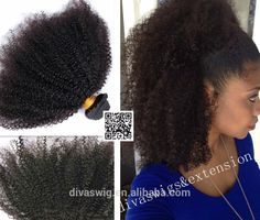 Peruvian virgin hair 4c afro kinky curly human hair clip in extensions 140g