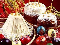 Пасху встречают куличами и крашеными яйцами. Birthday Cake, Pudding, Easter, Desserts, Food, Tailgate Desserts, Deserts, Birthday Cakes, Custard Pudding