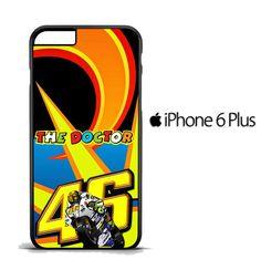 b9144918ec valentino rossi sun moon logo Z3067 iPhone 6 Plus