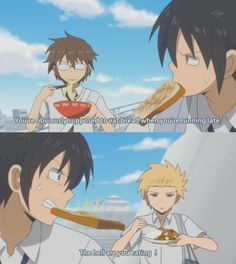 LOL Love this anime Daily Lives of High School Boys