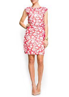 Flowery print dress/also a little risky?