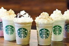 Starbucks : 6 nouvelles saveurs de Frappucino seront à l'honneur