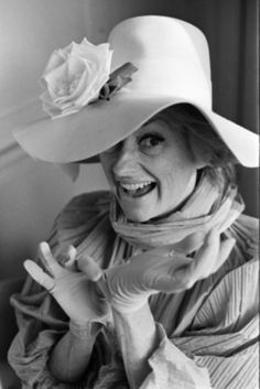 In this March 1966 photo, comedian Phyllis Diller models one of her 300 hats in Hollywood, Calif. Famous Women, Famous People, Queens Of Comedy, Female Comedians, Phyllis Diller, Model One, Wild Hair, Funny People, Funny Men