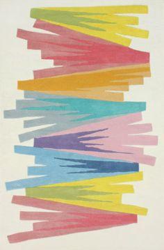 RugStudio presents Nuloom Hand Tufted Shayna Multi Hand-Tufted, Good Quality Area Rug