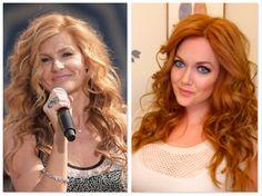 """Connie Britton """"Nashville"""" Spiral Curls Hair Tutorial / Strawberry Blonde Hair / www.GirlGetGlamorous.com"""