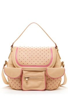 Valentino Perforated Leather Shoulder Bag on HauteLook