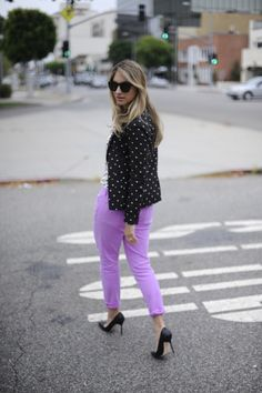 Lilac and pumps from Cupcakes and Cashmere