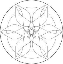simple mandala coloring pages - Google Search
