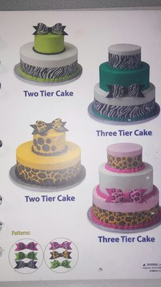 Sam S Club Safari Tier Cake