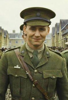 That smirk. Captain Nicholls, your Tom is showing.