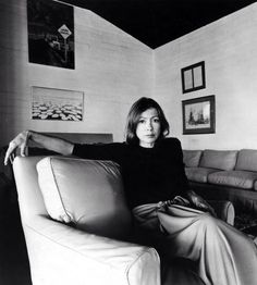 joan didion #author #style #fashion