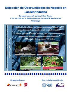18/03/2013 Presentacion Nuevas oportunidades de negocio  Salon de actos CEDER Merindades 18:00h Villarcayo   Sodebur presenta el análisis llevado a cabo para Las Merindades y las fichas y el modelo de empresas de aquellas oportunidades de negocio mas relevantes