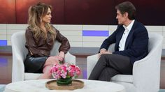 Jennifer Lopez wearing Givenchy with Kurt Geiger heels on Dr. Oz. Styled by #RandM.