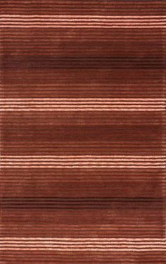nuLOOM HJVST4B-2608 Vista Collection Hand Made Area Rug, 2-Feet 6-Inch by 8-Feet, Red Style: Contemporary, Solid & Striped. Red colored. Actual Size: 2' 6 x 8'. Material: 100% Cotton. Origin: China.  #NuLOOM #Home