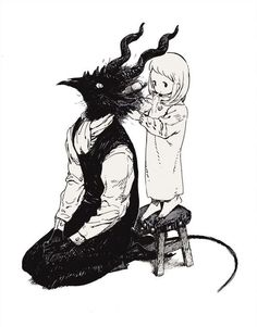 Totsukuni no shoujo image - zerochan anime image bo Arte Horror, Horror Art, Dark Fantasy, Fantasy Art, Art Goth, Character Inspiration, Character Art, The Ancient Magus Bride, Illustration Art
