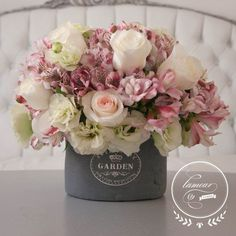 Discover thousands of images about Floral Arrangement - Modern Embrace Floral Centerpieces, Wedding Centerpieces, Floral Arrangements, Wedding Decorations, Deco Floral, Arte Floral, Floral Design, Silk Flowers, Beautiful Flowers