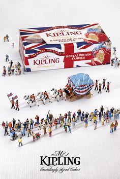 Mr Kipling Jubilee Celebrations Parade ad