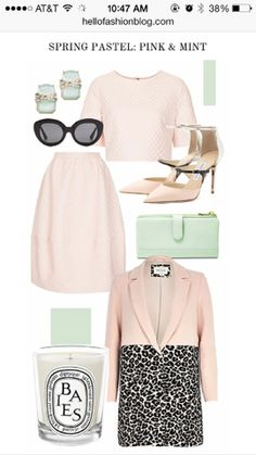 Mint and Nude