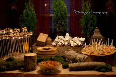 forest themed baby shower | Forest themed inspiration