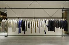 News | pas de calais Clothing Store Interior, Clothing Store Design, Boutique Interior Design, Showroom Design, Retail Store Design, Retail Shop, Fashion Store Design, Retail Shelving, Store Layout