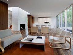 wooden floor interior design - Google zoeken
