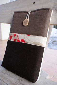 Laptop sleeve case cover for 13 inch Macbook/ canvas by sandrastju, $29.00