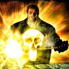 Punisher (Frank Castle) art by Lewis Larosa Marvel Comic Books, Comic Books Art, Marvel Comics, Daredevil Series, Punisher Marvel, Art Studies, The Good Place, Castle, Batman