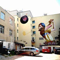 He llegado a la conclusión que los graffiteros son mejores muralistas que algunos que se hacen llamar pintores.  (Gdynia, Poland).