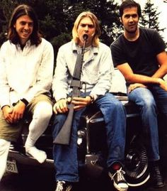 Nirvana - I wonder if this picture haunts Krist & Dave.