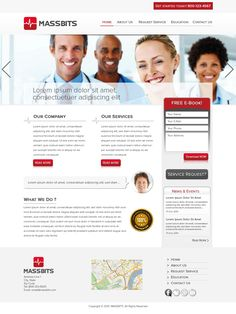Create the next website design for Massbits