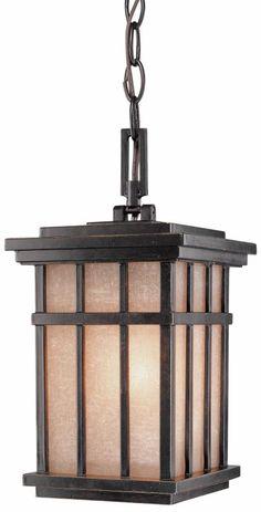 Dolan Designs 9143 Craftsman / Mission 1 Light Outdoor Pendant from the Freeport Winchester Outdoor Lighting Pendants Lantern