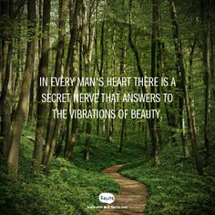 In every man's heart there is a secret nerve that answers to the vibrations of beauty. www.beardelicious.co.uk - Quote From Recite.com #RECITE #QUOTE