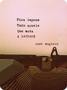Blog da Lari: As poesias de Zack Magiezi