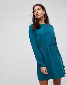 Vila - Langärmliges Kleid mit geraffter Taille - Violett Jetzt bestellen unter: https://mode.ladendirekt.de/damen/bekleidung/kleider/sonstige-kleider/?uid=6e84e19f-7962-5eb7-b50f-67df7c8ecc06&utm_source=pinterest&utm_medium=pin&utm_campaign=boards #sale #sonstigekleider #freizeitkleider #kleider #female #bekleidung