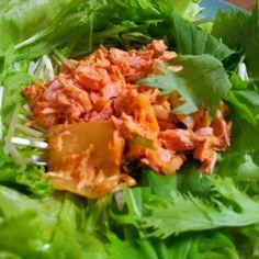 ノンオイルツナを使いましたが、オイルツナの方が美味しかったです。 - 10件のもぐもぐ - ツナキムチサラダ by lyra8blue